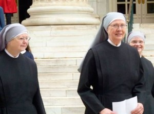 Abortion-free spaces. Government cannot penalise the Little Sisters for refusing to perform abortions. Another victory of abortion conscientious objection