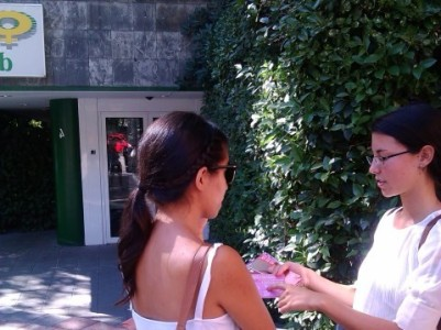 Actividades ante clínicas abortistas para informar a las madres, aprobada por sentencia judicial
