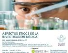 Tertulias sobre bioética. Aspectos éticos de la investigación médica
