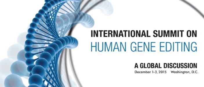 La cumbre sobre edición genética en humanos concluye con opiniones divergentes