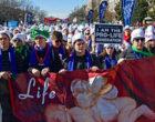 Donald Trump participa en la marcha por la vida en Washington