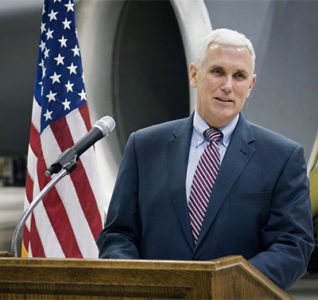El vicepresidente de los Estados Unidos se declara defensor de la vida humana y contrario al aborto
