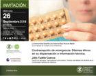 Conferencia: Contracepción de emergencia