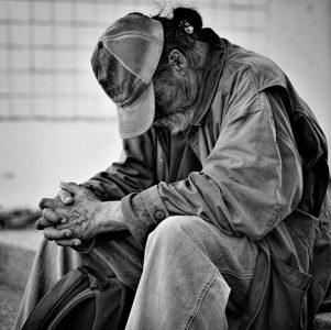 La depresión en los «sin techo» dobla a la de la población normal