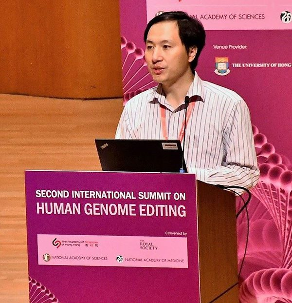 He Jiankui es condenado a 3 años de prisión por la generación de bebés modificados genéticamente