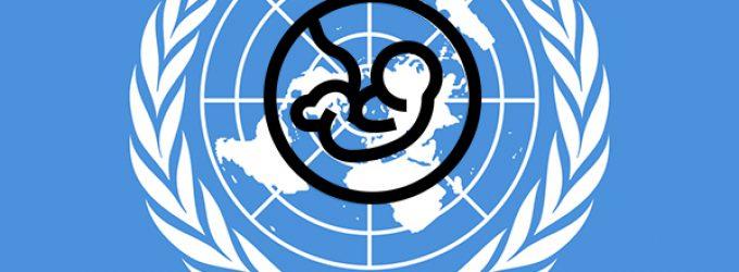 La ONU promueve la planificación familiar y el aborto
