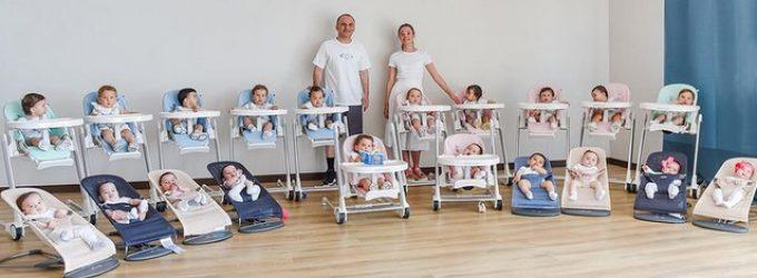 Una pareja tiene 20 hijos por maternidad subrogada