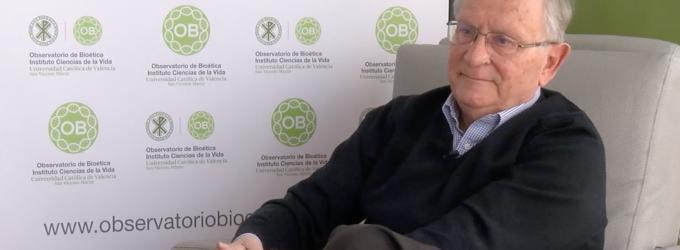 """Justo Aznar: """"Querer la muerte digna de un paciente que sufre, es darle los cuidados paliativos que necesita"""""""